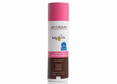 MD MOMS Baby Silk - Fragrance-Free Daily Skin Protection Moisturizing Balm