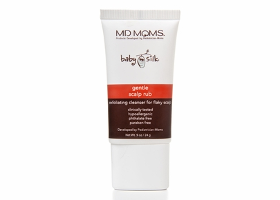 MD MOMS Baby Silk - Gentle Scalp Rub Exfoliating Cleanser For Flaky Scalp