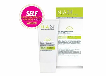 NIA24 - Sun Damage Prevention Broad Spectrum SPF 30 UVA/UVB Lotion