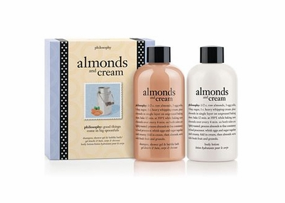 Philosophy - Almonds and Cream Bath & Body Duo