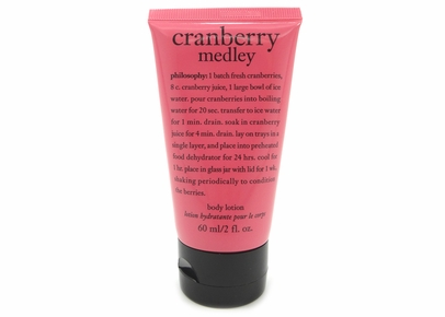 Philosophy - Cranberry Medley Body Lotion (2 oz.)