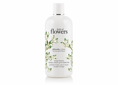 Philosophy - Field of Flowers Orange Blossom Shampoo, Shower Gel & Bubble Bath