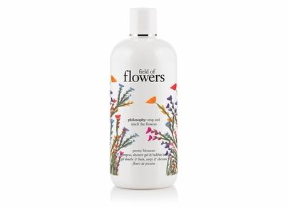 Philosophy - Field of Flowers Peony Blossom Shampoo, Shower Gel & Bubble Bath