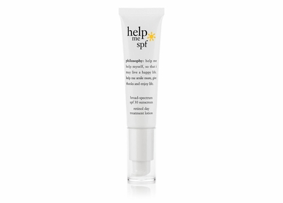 Philosophy - Help Me SPF Broad-Spectrum SPF 30 Sunscreen Retinol Day Treatment Lotion