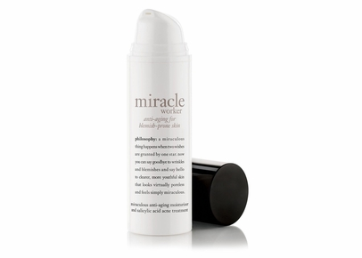 Philosophy - Miracle Worker Miraculous Anti-Aging Moisturizer and Salicylic Acid Acne Treatment for Blemish-Prone Skin