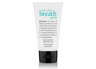 Philosophy - Take A Deep Breath SPF 30 Broad Spectrum SPF 30 Sunscreen Oil-Free Oxygen Moisturizer