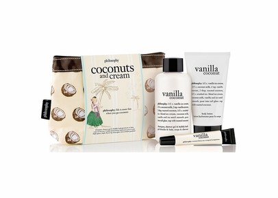 Philosophy - Vanilla Coconut Bath and Body Set