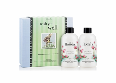 Philosophy - Wish You Well Field of Flowers Water Lily Blossom Gift Set