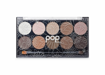 POP Beauty - Bright Up Your Life Eyeshadow Palette - Naturally Bare