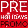 Pre-Holidays Promo - 15% of storewide