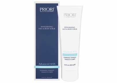 PRIORI - Advanced AHA Invigorating Face and Body Scrub