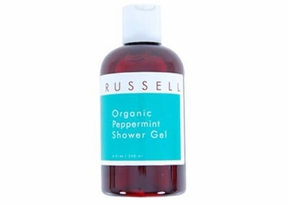 Russell Organics - Organic Peppermint Shower Gel