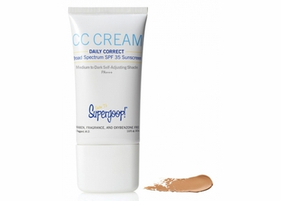 Supergoop! - CC Cream Daily Correct Broad Spectrum SPF 35 Sunscreen Medium to Dark