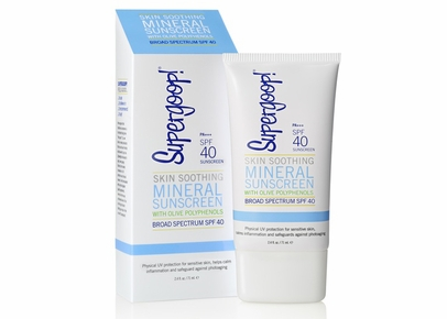 Supergoop! - Skin Soothing Mineral Sunscreen with Olive Polyphenols SPF 40