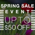 Up to 25% off Store-Wide Spring Sale