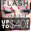 Up to $40 off Flash Sale
