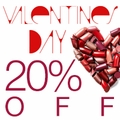 Valentine's Day Sale 20% off Store-Wide