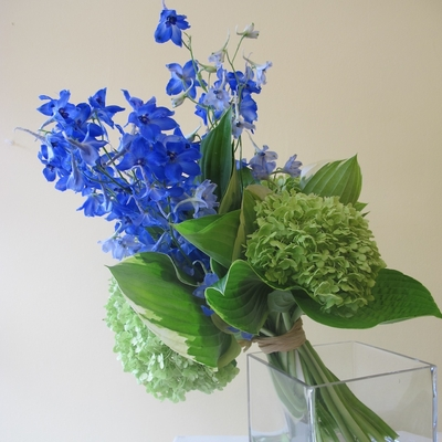 Blue Hand Tied