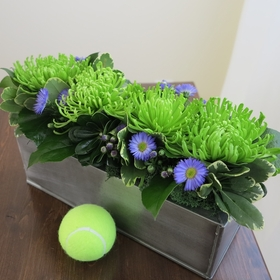 Green Chrysanthemums
