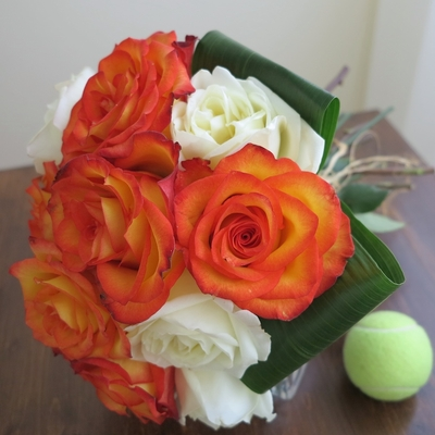 Hand Tied Roses