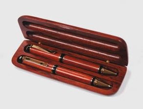 Big Ben Series Pen and Pencil Desk Set with Bubuinga Box