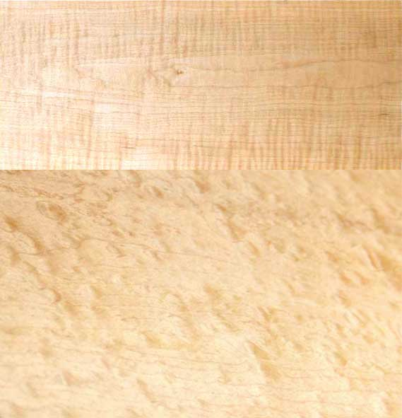 Curly Maple Wood Flooring: Curly And Quilted Maple