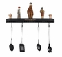 Hi-Lite Monterey Collection Wall Pot Rack 24""