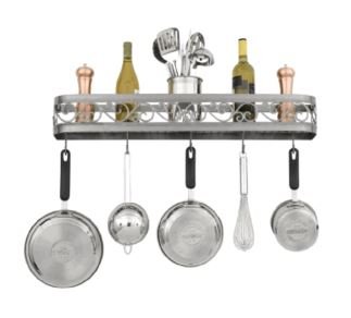 Hi-Lite Odysee Wall Mounted Pot Rack 34""
