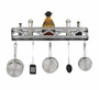 Hi-Lite Sanoma Wall Mounted Pot Rack 34""