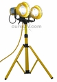 LensBright UV Tripod Fixture with Dual UV-A Lamps