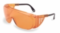 Orange Safety Glasses for UV Protection - Uvex Ultraspec