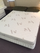 """My Bed My Way: 6"""" all Latex Mattress with Bamboo Cover with Foundation"""