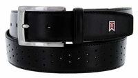 Nike Golf G-Flex Tiger Woods Men's Perforated Mesh II Golf Belt Black 1207801