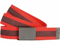 Nike Golf Sport Men's Rubber Inlay Reversible Web Belt <br>Lt. Crimson <br>11198255
