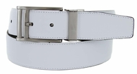 Nike Men's Golf Belt Swivel Reversible Leather Belt 1115525 Black/White