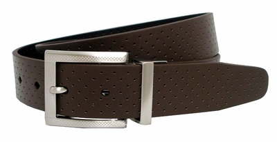 Nike Perforated Reversible Golf Belt Brown/Black 1108920