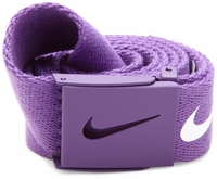 Nike Tech Essentials Canvas Web Belt <br>Varsity Purple - 1111315