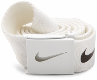 Nike Tech Essentials Canvas Web Belt <br>White 1111304
