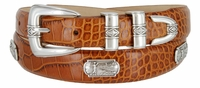 Palm Springs Leather Men's Golf Belt