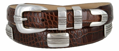 Pebble Beach Genuine Leather Belt