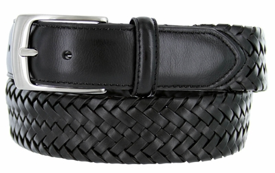 2349550 PGA TOUR Men's Braided Stretch Golf Belt - Black