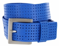 3301500 PGA TOUR Silicone Perforated Golf Belt - Royal Blue