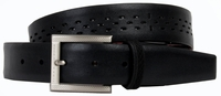 Tiger Woods Open Air Perforated Mesh Golf Belt Black 1205001