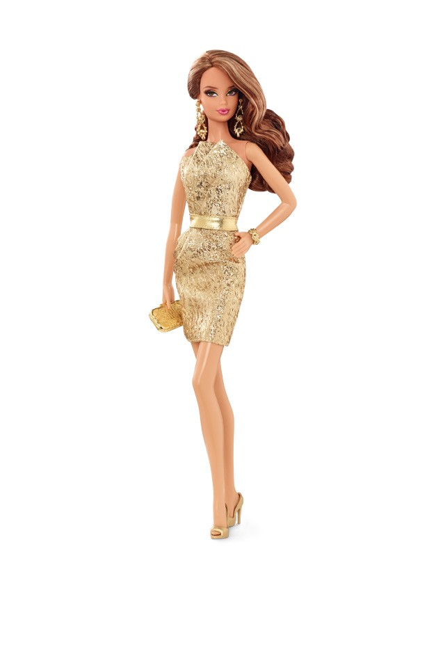 2015 THE BARBIE LOOK CFP36 REDHEAD RED CARPET BARBIE® Doll In stock