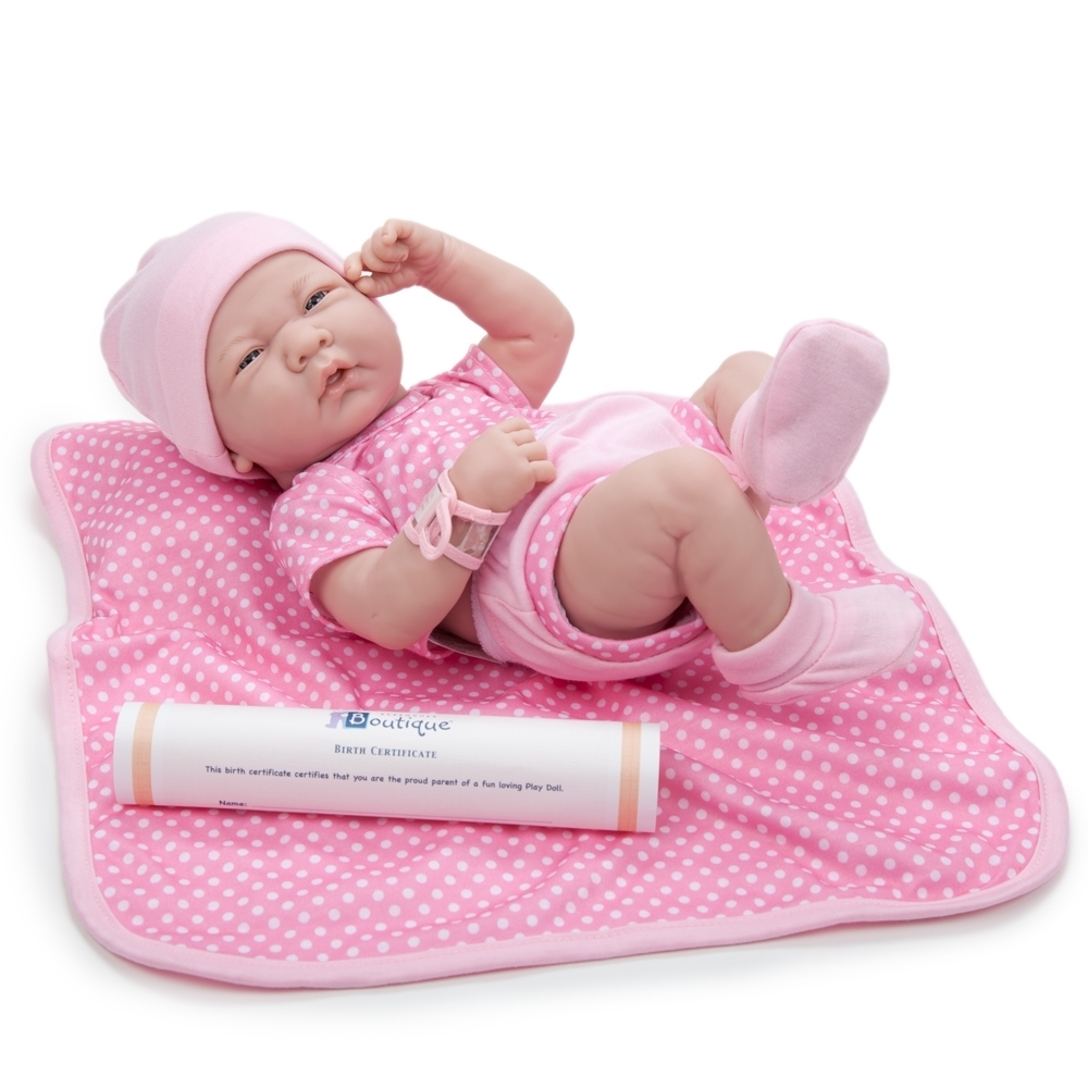 Girl Doll Pink By Berenguer 18541 La Newborn Real Girl