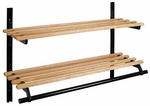 Infinite Wall-Mounted Wooden Coat Rack 150-119