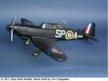 Boulton Paul Defiant #FF74 Easy Built Balsa Wood Model Airplane Kit Rubber Powered