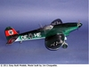 Heinkel He 112 #FF29 Easy Built Balsa Wood Model Airplane Kit Rubber Powered