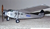 Hollywood Hamilton #CA02 Easy Built Balsa Wood Model Airplane Kit Rubber Powered