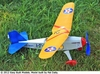 Jimmie Allen MC - B-A Parasol #FF68 Easy Built Balsa Wood Model Airplane Kit Rubber Powered